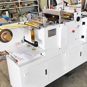Automatic die cutting...